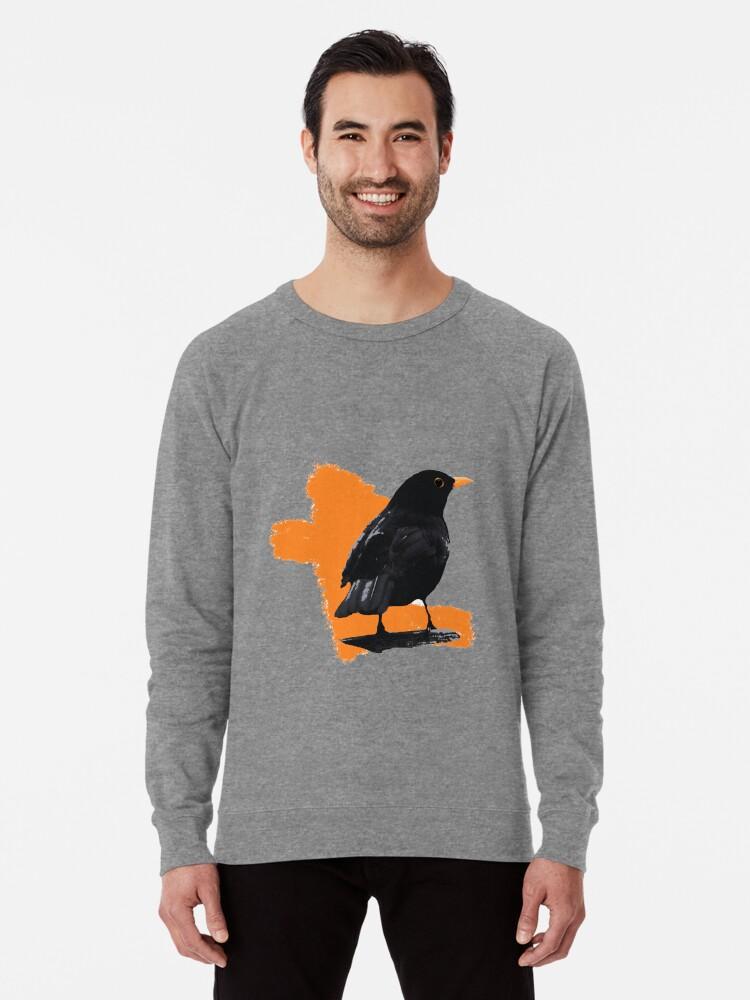 Alternate view of Blackbird fly Lightweight Sweatshirt
