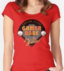 Torture Tested Gamer Babe 2 Women's Fitted Scoop T-Shirt