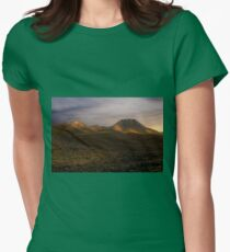 Bathed In Light Womens Fitted T-Shirt