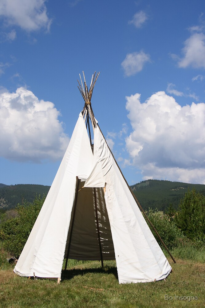 Teepee by Bo Insogna