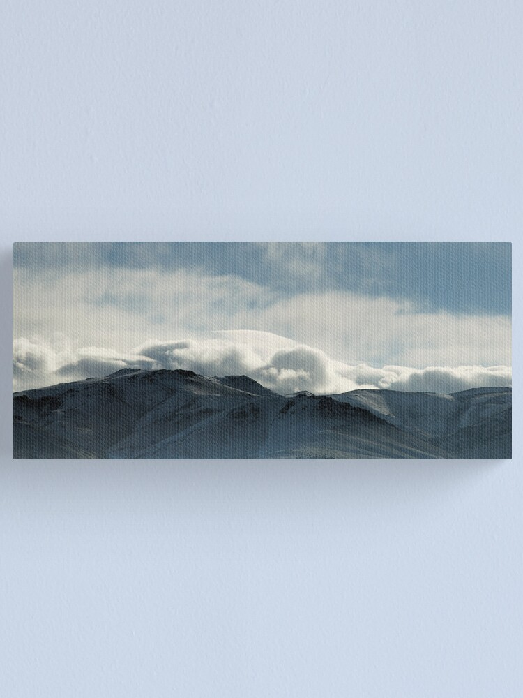 Alternate view of A Soft White Blanket Canvas Print