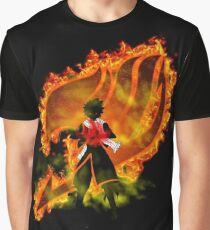 Fairy Tail on Fire Graphic T-Shirt