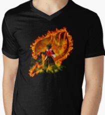 Fairy Tail on Fire Men's V-Neck T-Shirt
