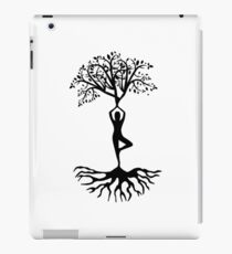 Inspirational Relax Chill Out Meditation Yoga Spiritual Natural Hippie T-Shirts iPad Case/Skin
