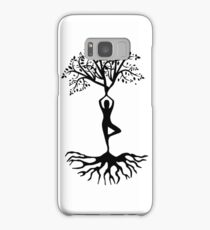 Inspirational Relax Chill Out Meditation Yoga Spiritual Natural Hippie T-Shirts Samsung Galaxy Case/Skin