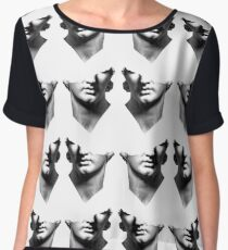 sculpture Chiffon Top