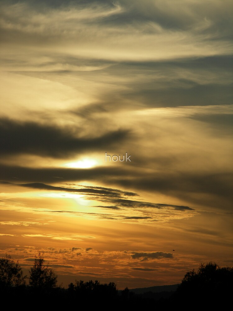 Sunset (1) by houk