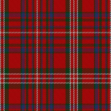 MacKinnon #12 Clan/Family Tartan  by Detnecs2013