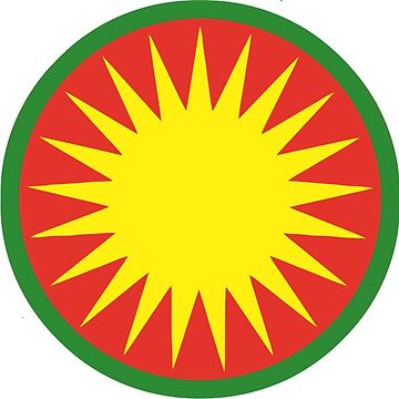 Rojava Coat of Arms Sticker by a11ce