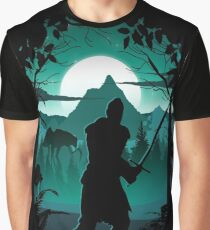 Warden Silhouette Graphic T-Shirt