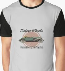 Vintage Wheels: Duesenberg SJ Phaeton Graphic T-Shirt