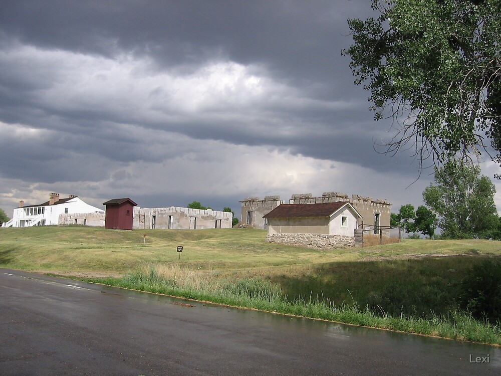 Fort Laramie After Storm 1 by Lexi