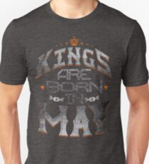 Legends Kings are born in may Unisex T-Shirt