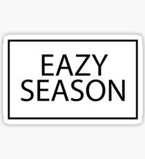 EAZY SEASON Sticker