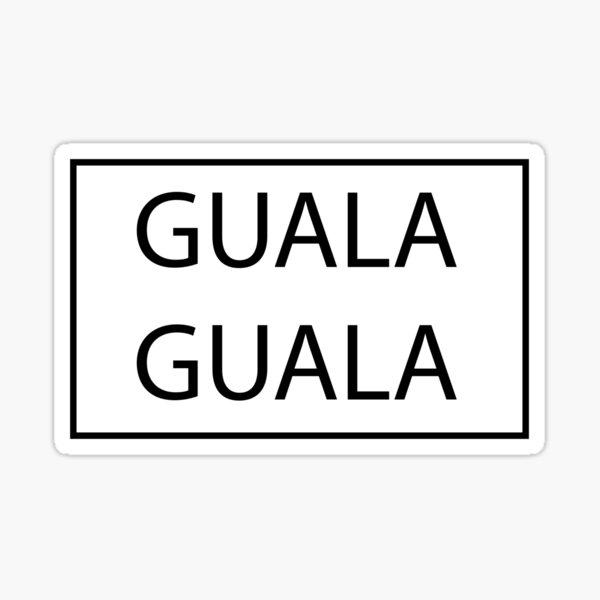 GUALA Sticker