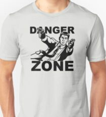 Archer Danger Zone FX TV Funny Cartoon Cotton Blend T-Shirt