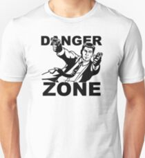 Archer Danger Zone FX TV Funny Cartoon Cotton Blend Unisex T-Shirt