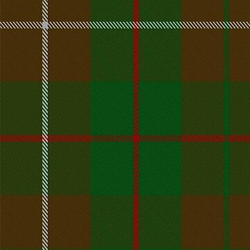 MacKinnon Hunting #3 Clan/Family Tartan  by Detnecs2013