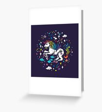 The Unicorn Greeting Card