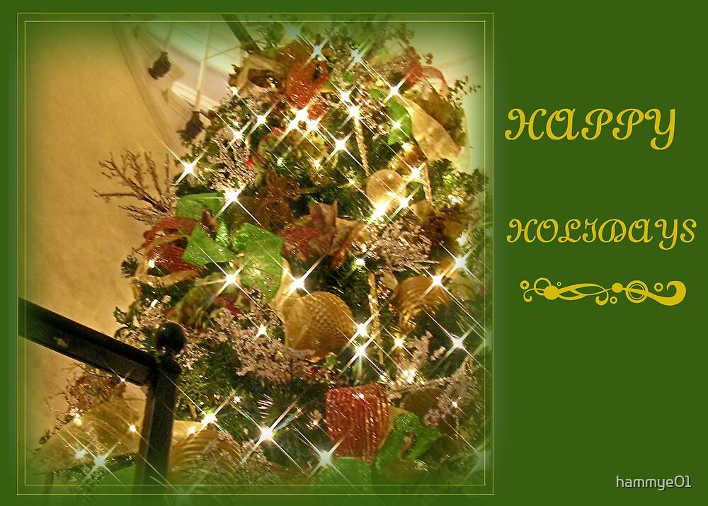 Happy Holidays card (beautiful tree) by hammye01
