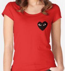 COMME DES GARÇONS PLAY Gamer Women's Fitted Scoop T-Shirt
