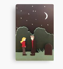 Buffy and Spike Canvas Print