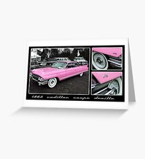 1963 Cadillac Coupe DeVille Greeting Card
