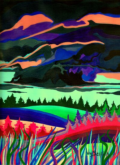 The Storm by Jamie Winter-Schira