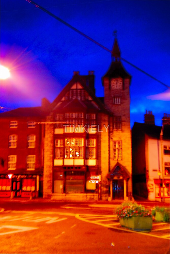 CLOCK HOUSE BY NITE by TIMKIELY