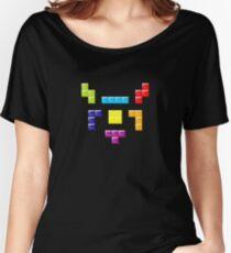TETRIS MASK Women's Relaxed Fit T-Shirt