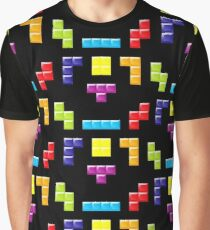 TETRIS MASK Graphic T-Shirt