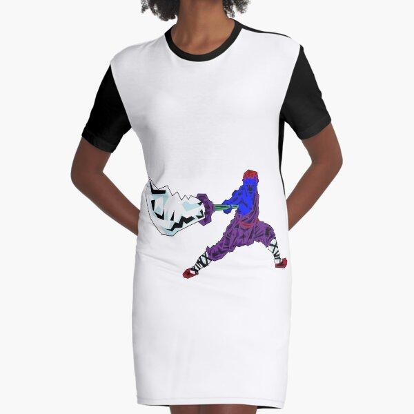 Shaolin-Bot T-Shirt Kleid