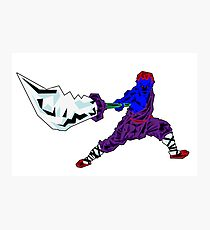 Shaolin-Bot Fotodruck