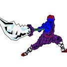 Shaolin-Bot von Ray Rubeque