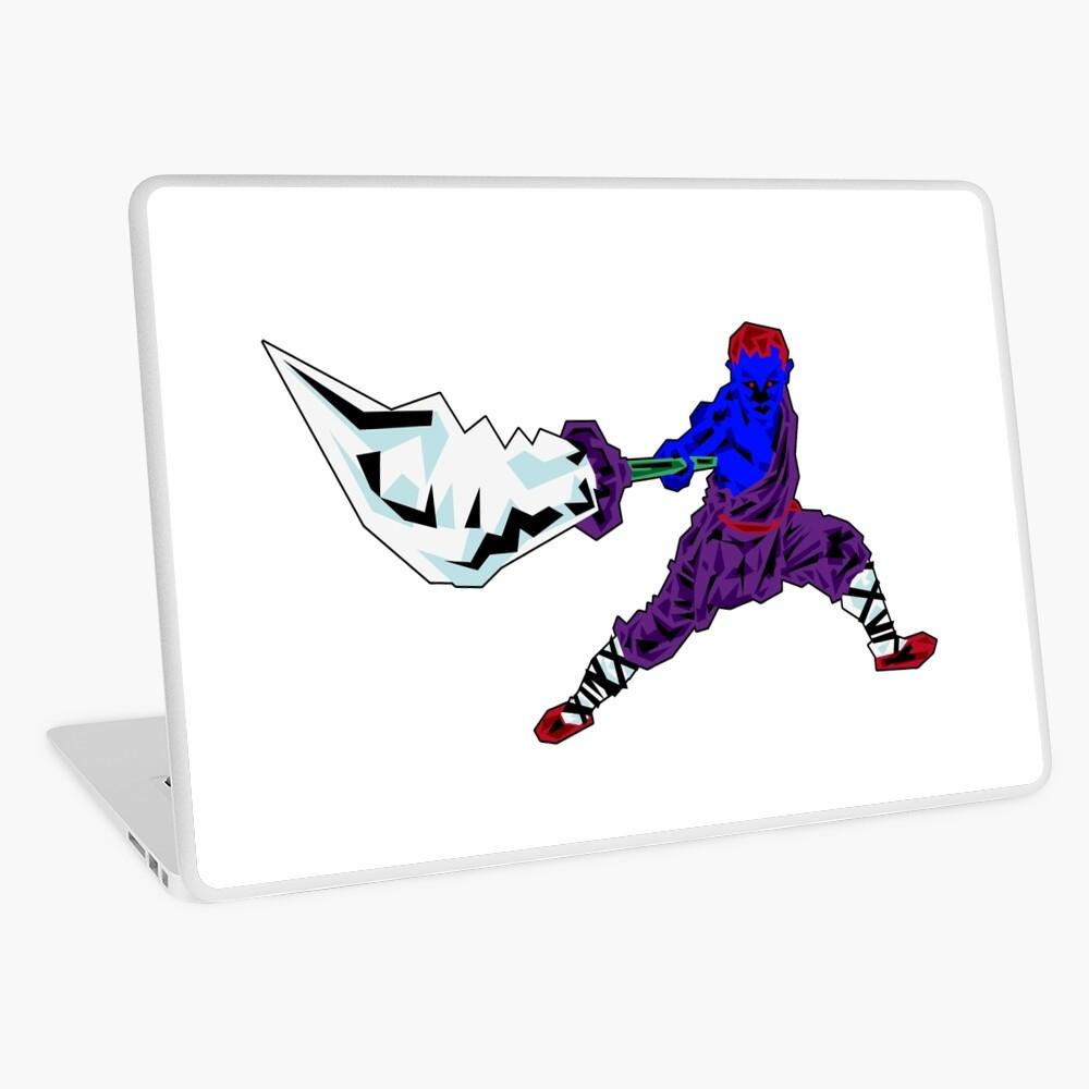 Shaolin-Bot Laptop Folie