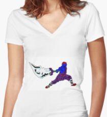 Shaolin-Bot Shirt mit V-Ausschnitt