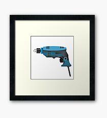drill Framed Print