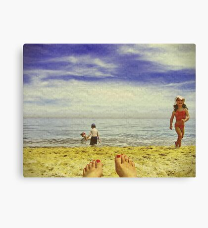 Lazy Daze Canvas Print