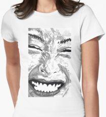 Smile Tailliertes T-Shirt für Frauen