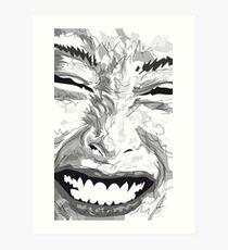 Smile Kunstdruck