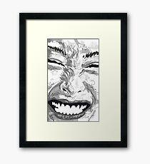 Smile Gerahmtes Wandbild