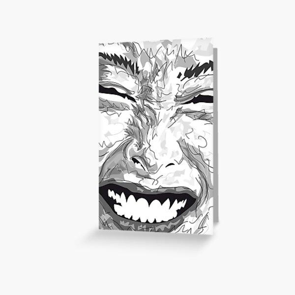 Smile Grußkarte