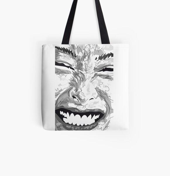 Smile Allover-Print Tote Bag