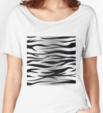 zebra skin Women's Relaxed Fit T-Shirt