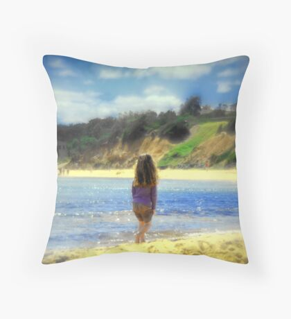 Childhood dreams.... Throw Pillow