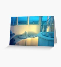 Blue Lantern Room at the West Usk Lighthouse Greeting Card