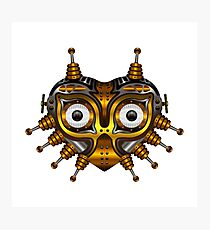 Steampunk Mask Photographic Print