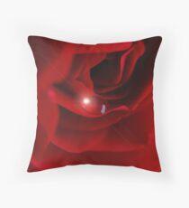 Rose glow.. Throw Pillow