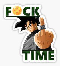 Fuck Time - Goku Black Sticker