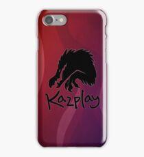 Kazplay Logo iPhone Case/Skin